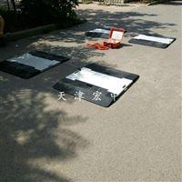 河南郑州四块板静态便携式轴重秤批发零售