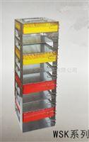 与任何型号低温冰箱完美结合的不锈钢冻存架
